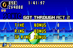 Sonic Advance 2 - Not even trying. - User Screenshot